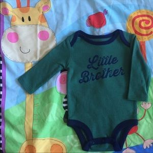Carter's Baby Boy Long Sleeve Romper